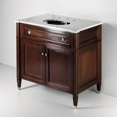traditional bathroom vanities and sink consoles by Waterworks