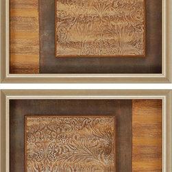 Paragon Decor - Classico Set of 2 Artwork - Exclusive Mixed Media - No Glass