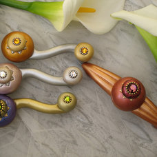 Contemporary Cabinet And Drawer Handle Pulls by Susan Goldstick, Inc.