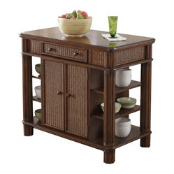 Home design ideas pictures remodel and decor for Home styles natural kitchen cart with storage