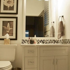 Eclectic Bathroom by Veranda Estate Homes & Interiors