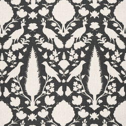 CHENONCEAU by Schumacher - Chenonceau - This classic Schumacher design is reproduced from an antique French printed textile and is 100% Linen.
