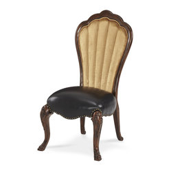 Palace Gates Side Chair  - Leather