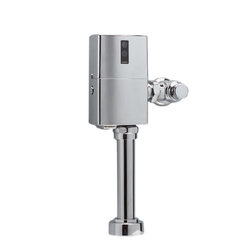 "Toto - Toto TET1LN32 Chrome EcoPower Hi-Efficiency Toilet Flushometer Valve 1.28 GPF - Toto TET1LNC-32 EcoPower 1.28 Gallon Per Flush Exposed Toilet Flushometer Valve with 1 1/2"" Vacuum Breaker Assembly.  The EcoPower Flush Valve is a Self-Generating sytem that does not require batteries or transformers for reduced maintenance calls. The Sensor activated flush valve is a piston operated for increased life in tough water situations. The  Toto TET1LNC-32 does not require scheduled mainenace calls and reduces continued cost to operate. Polished Chrome Finish"