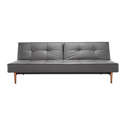 """Mob Sofa Bed - The Mob Sofa Bed is quick and simple to transform into a comfortable bed. Made with a 7"""" pocket spring mattress, the Mob sleeps comfortably and holds its shape very well. Designed in Denmark with Danish modern style."""