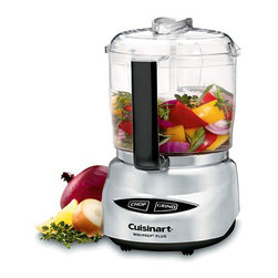 Cuisinart - Cuisinart Brushed Stainless Steel Mini-prep Food Processor (Refurbished) - Prepare great meals right at home with this Cuisinart food processor. With its compact size and stainless steel construction,this food processor is perfect for todays modern kitchen.