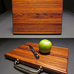 Attache Case Cutting Boards - All photos by the artist.