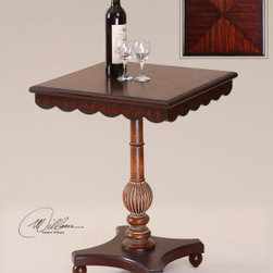 "24122 Webster, Accent Table by uttermost - Get 10% discount on your first order. Coupon code: ""houzz"". Order today."