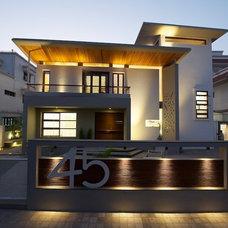 Contemporary Exterior by sak designs