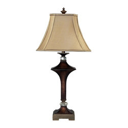 Dimond Lighting - 93-9241-LED Rentz Table Lamp, Viscount Bronze - Transitional Table Lamp in Viscount Bronze from the Rentz Collection by Dimond Lighting.