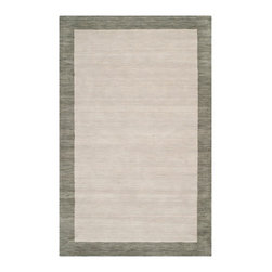 Safavieh - Newtown Hand Loomed Rug, Light Grey / Dark Grey 10' X 14' - Construction Method: Hand Loomed. Country of Origin: India. Care Instructions: Vacuum Regularly To Prevent Dust And Crumbs From Settling Into The Roots Of The Fibers. Avoid Direct And Continuous Exposure To Sunlight. Use Rug Protectors Under The Legs Of Heavy Furniture To Avoid Flattening Piles. Do Not Pull Loose Ends; Clip Them With Scissors To Remove. Turn Carpet Occasionally To Equalize Wear. Remove Spills Immediately. The casual allure of contemporary Tibetan carpets is recalled in Safavieh's rich and textural Himalaya Collection. Loomed by hand in India of 100 percent wool in a range of heathered solids, transitional stripes and subtle plaids, each rug in the collection.