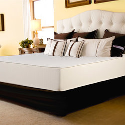 Select Luxury - Select Luxury Reversible Firm 10-inch Queen-size Foam Mattress with EZ Fit Found - Reversible Comfort 10-inch firm foam queen mattress provides superior comfort for a good night's rest. This reversible mattress is constructed of a plush foam on top of high density foam covered in stretch knit ticking on each side.