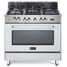 Transitional Gas Ranges And Electric Ranges by EuroChef USA
