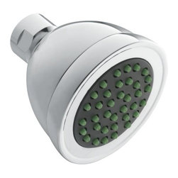 MOEN INCORPORATED - Moen Commerical Single Function, Low-Flow Showerhead, Chrome Plated - From finishes that are guaranteed to last a lifetime, to faucets that perfectly balance your water pressure, Moen sets the standard for exceptional beauty and reliable, innovative design.