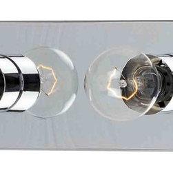 Maxim Lighting - Maxim Lighting 4454PC Essentials Polished Chrome 4 Light Vanity - Maxim Lighting 4454PC Essentials Polished Chrome 4 Light Vanity
