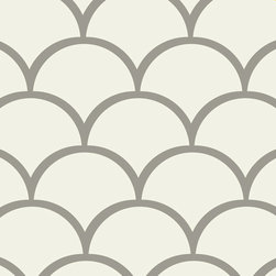 Stencil Ease - Scales Painting Stencil - The Scales stencil has interesting and modern texture that can be added to any room, design project or diy project. You can add texture and shape to just about anywhere in your home. Try stenciling on Furniture or Floors!