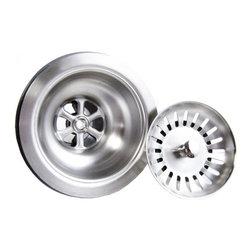 "TCS Home Supplies - Kitchen / Bar Sink Basket Ball-Point Strainer 3.5-inch - Kitchen or Bar Sink Basket Ball-Point Strainer. Standard 3. 5"" Drain Openings. Fits all standard kitchen sinks."