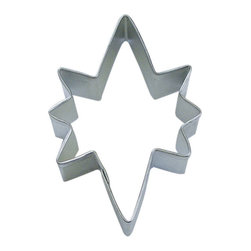 RM - Star Of Bethlehem 3.5 In.  B1116X - Star of Bethlehem cookie cutter, made of sturdy tin, Size 3.5 in., Depth 7/8 in., Color silver