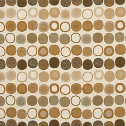 "Sunbrella USA - 45701-0001 Sunbrella Mankala Teak - Sunbrella indoor/outdoor high performance fabric.  5 year warranty against fade, mildew and water resistance. 100% Solution-dyed Acrylic Yarns.  54"" wide. Solid.  Manufactured in the United States.  Machine wash - cold water. NO DRYER/HEAT."