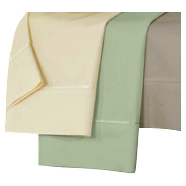 Dreamfit - Dreamfit Bamboo Sheets, Sand, Standard Pillow Cases(pair) - Sheet set includes an extra-large top sheet, a patented self-tailoring fitted sheet, and two pillowcases. A wonderful blend of silky softness and health benefits, Bamboo-Rich fibers wick away moisture from the body and are naturally bacteria and allergen resistant.