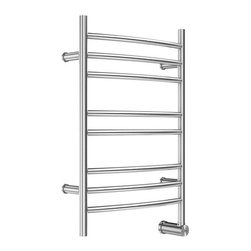 "Mr Steam - Mr Steam W328SSB Stainless Steel Brushed 300 300 Electric-Wall Towel - 300 Electric-Wall Towel Warmer The ultimate indulgence after a steam bath or shower is wrapping yourself in a freshly warmed towel.  Mr. Steam s Series 300 towel warmers are available in free standing and wall mounted options, providing a luxury you won t want to resist. Mr Steam W328 Features:  Constructed from the highest quality stainless steel Comes in brushed or polished finish Includes integrated aromatherapy oil well  Mr Steam W328 Specifications:  Height: 31.5"" Length: 4.75"" Width: 20"""