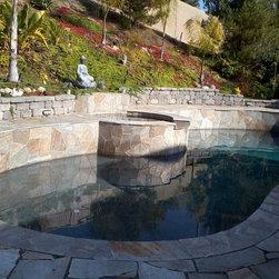 Premium san diego pool design ideas pictures remodel decor for Demaria landtech