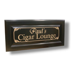 BenchMArk Custom Signs - Perfect for the garage, basement and so much more