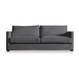 Gus Modern - Gus Modern Richmond Sofa in Lattice Granite - Here's a sofa to make you feel truly at home. Its easy-elegant design, down-filled, French-seam cushions and solid-wood block feet invite you as well as guests to relax in style.