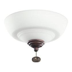 Kichler Lighting - Kichler Lighting Decor Bowl 42-46 Ceiling Fan Light Kit X-ZT421083 - Kichler Lighting Decor Bowl 42-46 Ceiling Fan Light Kit X-ZT421083