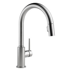 Delta Trinsic Arctic 1-Handle Pull-Down Kitchen Faucet