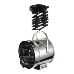 Modern Industrial Searchlight Pendant Lighting -