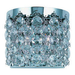 Joshua Marshal - Dazzle 2-Light Wall Sconce - Dazzle 2-Light Wall Sconce