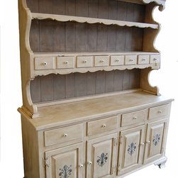 French Country Hutch - South of France Furniture Studio