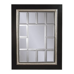 Bassett Mirror Company - Bassett Mirror Transitions Fiona Wall Mirror in Black & Silver - Fiona Rectangular Wall Mirror in Black and Silver belongs to Transitions Collection by Bassett Mirror Company Bassett Mirror is fluent in this art, showing a terrific contemporary furniture that will satisfy on the one hand fans of home coziness, and on the other hand - seekers of non-standard design solutions also. One of the many strengths of the Bassett Mirror is using high quality materials for perfect embodiment of brilliant design ideas. Mirror (1)