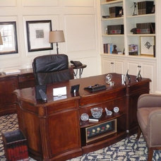 Traditional Home Office by Hoskins Interior Design