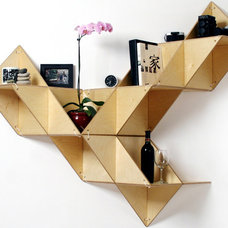 Contemporary Display And Wall Shelves  by J1 Studio