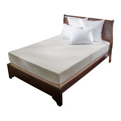 "Great Deal Furniture - 10"" Memory Foam Mattress, King - Sink into our 10"" Memory Foam Mattress. The top and side cover of this 10"" Memory Foam mattress is constructed of a White Poly Jacquard Fabric. Quilted to the top is .3"" of Memory Foam knitted into the cover, followed by 1.7"" of memory foam, and then 8"" thick of Pressure Relief Memory Foam that helps to eliminate pressure points you are experiencing specifically with this 3 important areas: head and shoulders, hips and feet for you to acquire harmonious sleep. The bottom includes an anti-slip cover that guarantees minimal injuries and mishaps you could possibly get with a non anti-slip cover. This 8"" Memory Foam mattress provides substantial support, resiliency and helps eliminate heat that can sometimes be associated with Memory Foam Mattresses."