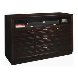 Concord TV Lift Cabinet - Our Concord TV Lift Cabinet lets you customize a media mix to suit your space. Striking half round and mitered molding frames add depth and shadow, showcasing horizontal & vertical mullion detailing on doors. TV not included.