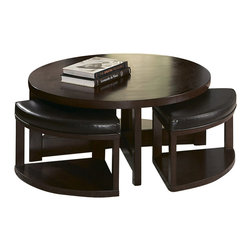 Glass Coffee Table With 4 Ottomans Coffee Tables Find