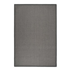 Safavieh - Natural Fiber Traditional Sisal Rug (9 ft. x 6 ft.) - Size: 9 ft. x 6 ft. Power loomed. Soft and durable. Made from sisal. Grey brown and grey color. Made in India. This densely woven rug will add a warm accent and feel to any home. The natural latex backing adds durability and helps hold the rug in place. Care Instructions: Vacuum regularly. Brushless attachment is recommended. Avoid direct and continuous exposure to sunlight. Do not pull loose ends; clip them with scissors to remove. Remove spills immediately; blot with clean cloth by pressing firmly around the spill to absorb as much as possible. For hard-to-remove stains professional rug cleaning is recommended.