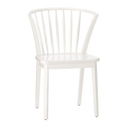 Modern Windsor Dining Chair, White Finish - I love West Elm's modern take on the classic Windsor chair. It's easy to assemble too.