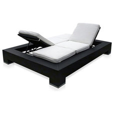 modern outdoor chaise lounges by Modani