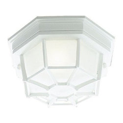 Livex Lighting - Livex Outdoor Basics Outdoor Ceiling Mount White -7509-03 - Livex products are highly detailed and meticulously finished by some of the best craftsmen in the business