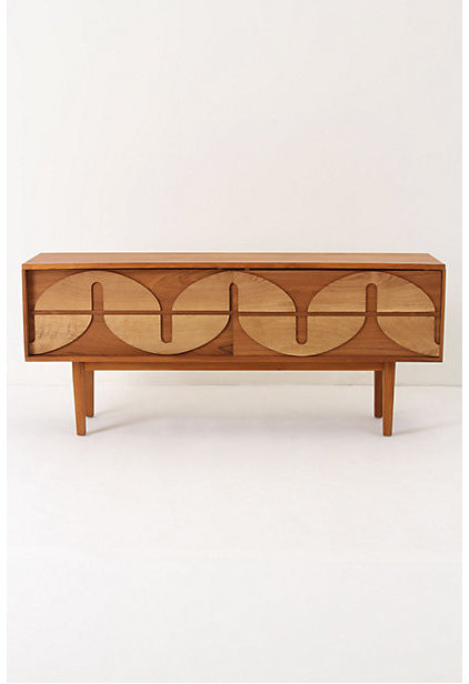 Midcentury Media Storage by Anthropologie