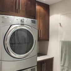 Modern Laundry Room Bathroom