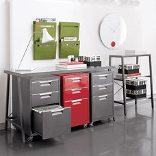 Modern Filing Cabinets by CB2