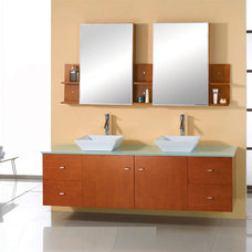 Modern Bathroom Vanities And Sink Consoles 72 Clarissa Modern Vanity by Virtu USA