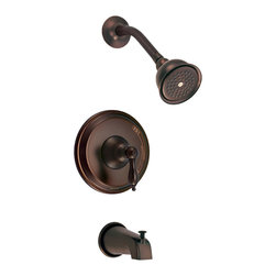 Danze - Danze D510040RBT Tub And Shower Trim Oil Rubbed Bronze - Danze D510040RBT Oil Rubbed Bronze Tub & Shower Trim is part of the Fairmont Bath collection.  D510040RBT Tub & Shower Trim with diverter on spout requires D112000BT or D115000BT rough-in valve, sold separately.  D510040RBT Single lever handle meets all requirements of ADA.