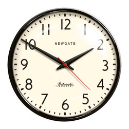 Rejuvenation: Kitchen - A classic schoolhouse style clock - perfect for kitchens and other utilitarian rooms.