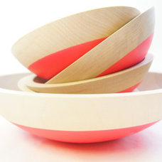 Modern Serving And Salad Bowls by Etsy